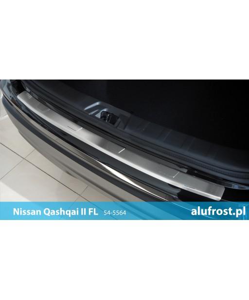 Rear bumper protector NISSAN QASHQAI II FL Seria T