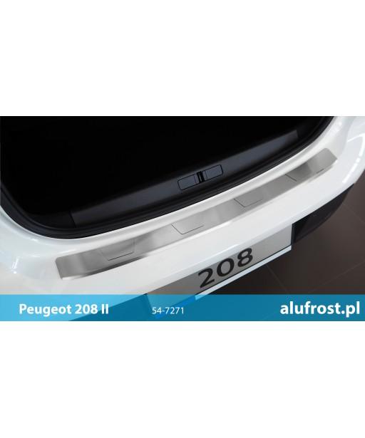 Rear bumper protector PEUGEOT 208 II SERIES T