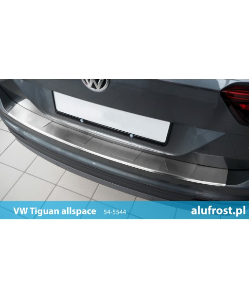 Rear bumper protector VOLKSWAGEN TIGUAN II / TIGUAN ALLSPACE Seria T