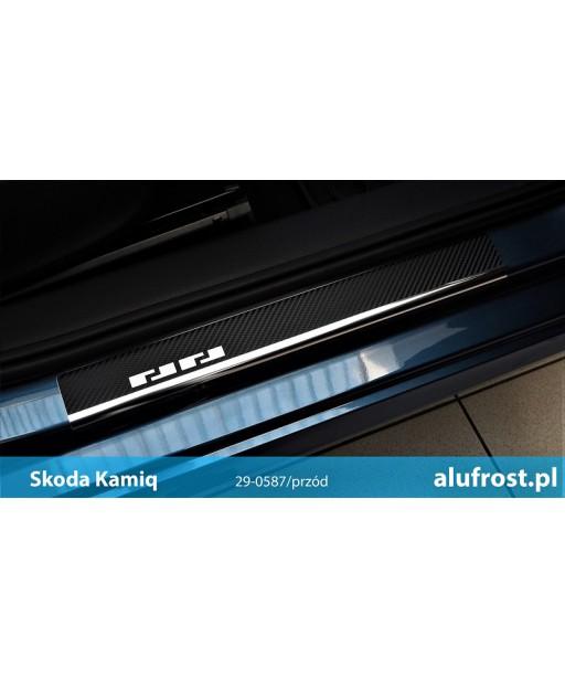 Door sills + carbon foil SKODA KAMIQ