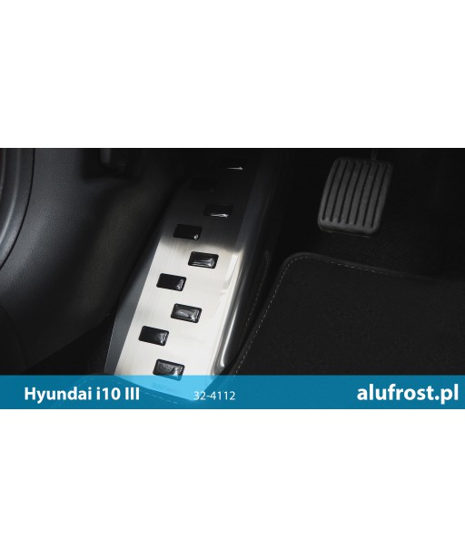 Left foot rest plate HYUNDAI i10 III