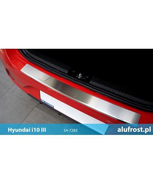 Rear bumper protector HYUNDAI i10 III SERIES T