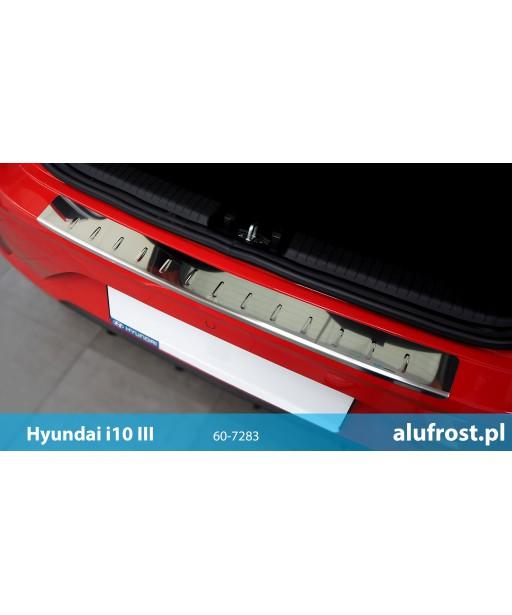 Rear bumper protector (mirror) HYUNDAI i10 III
