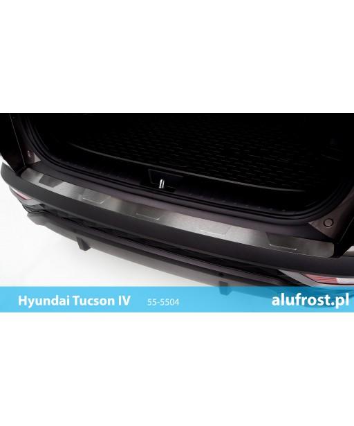 Rear bumper protector HYUNDAI TUCSON IV Seria T