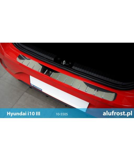 Rear bumper protector (steal) HYUNDAI i10 III