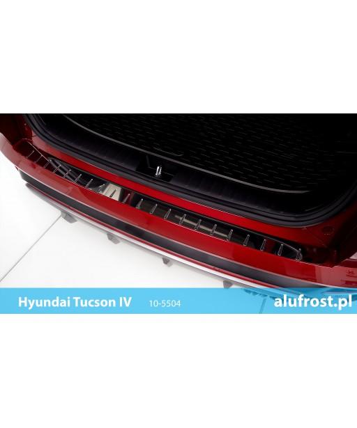 Rear bumper protector (steal) HYUNDAI TUCSON IV