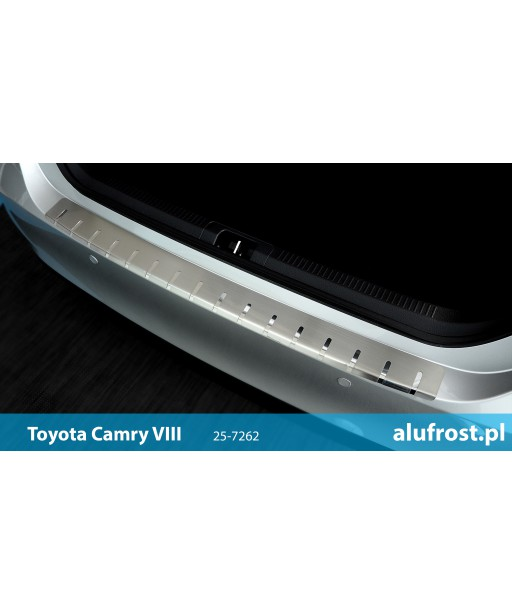 Rear bumper protector TOYOTA CAMRY VIII