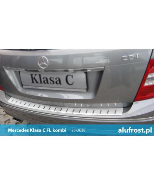 Rear bumper protector MERCEDES CLASS C FL (S204) KOMBI