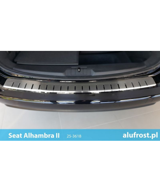 Rear bumper protector SEAT ALHAMBRA II