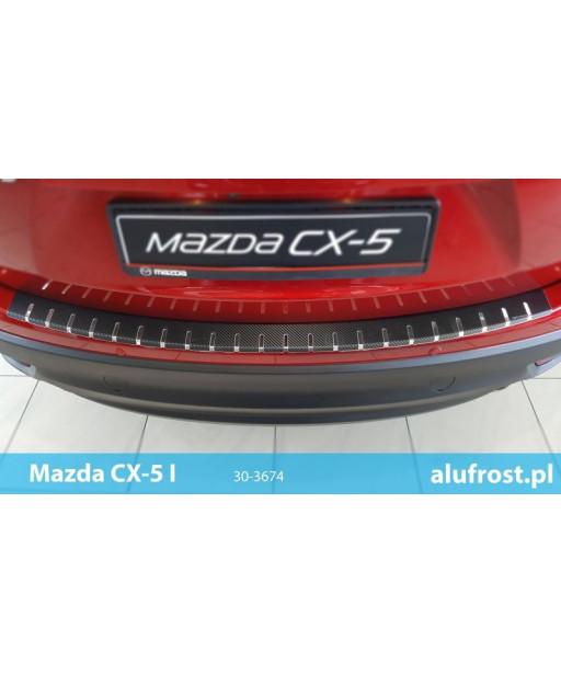 Rear bumper protector + carbon foil MAZDA CX-5
