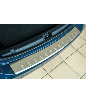 Nakładki progowe (stal + poliuretan) BMW 3 (E36) 4D | KOMBI