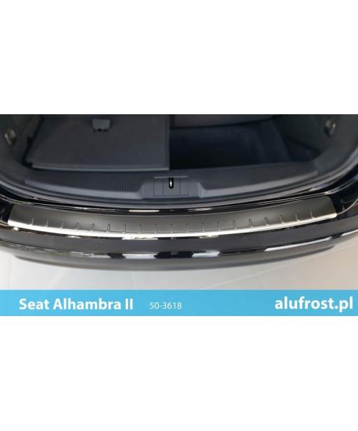 Rear bumper protector (inox) SEAT ALHAMBRA II
