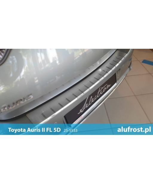Rear bumper protector TOYOTA AURIS II FL 5D
