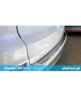 Nakładka z zagięciem na zderzak (stal) HONDA CR-V IV