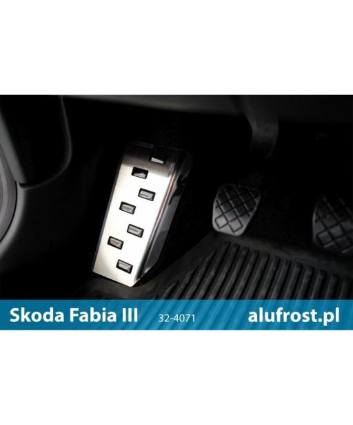 Left foot rest plate SKODA FABIA III 5D / KOMBI