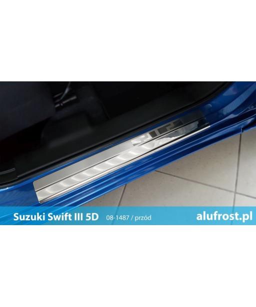 Door sills SUZUKI SWIFT III 5D