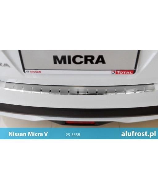 Rear bumper protector NISSAN MICRA V 5D