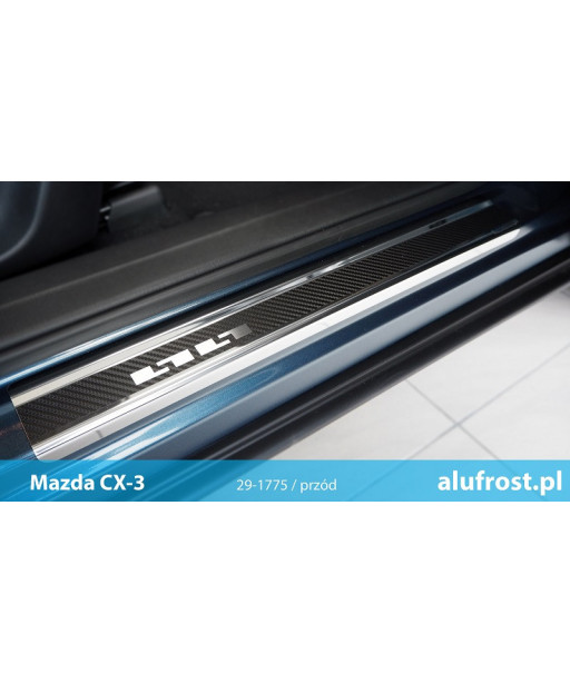 Door sills + carbon foil MAZDA CX-3