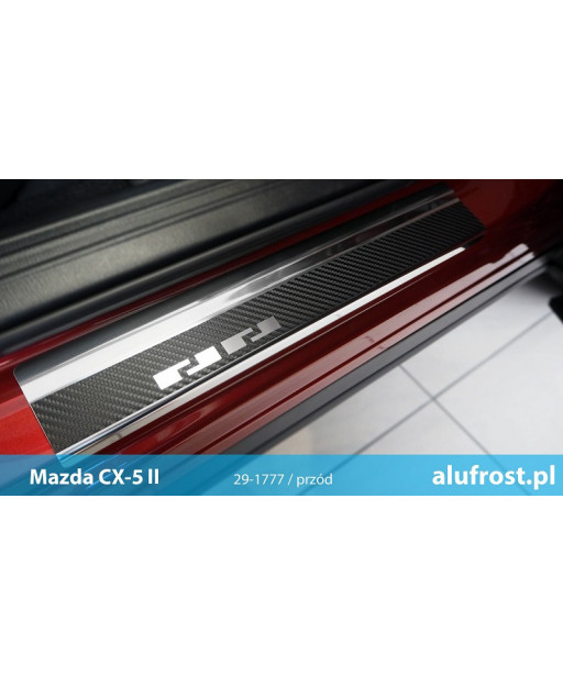 Door sills + carbon foil MAZDA CX-5 II