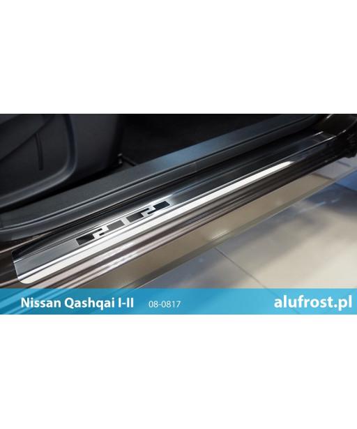 Nakładki progowe NISSAN QASHQAI I | II