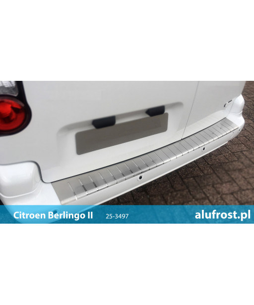 Rear bumper protector CITROEN BERLINGO II / PEUGEOT PARTNER II