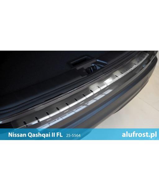 Rear bumper protector NISSAN QASHQAI II FL