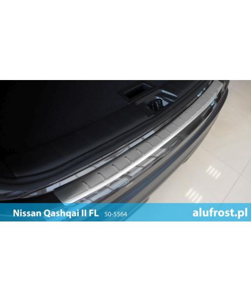 Nakładka na zderzak (mat) NISSAN QASHQAI II FL