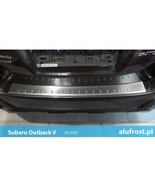 Rear bumper protector (inox) SUBARU OUTBACK V