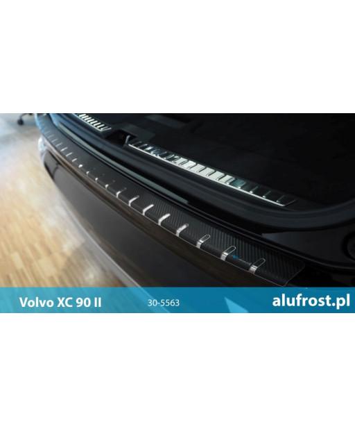 Rear bumper protector + carbon foil VOLVO XC90 II