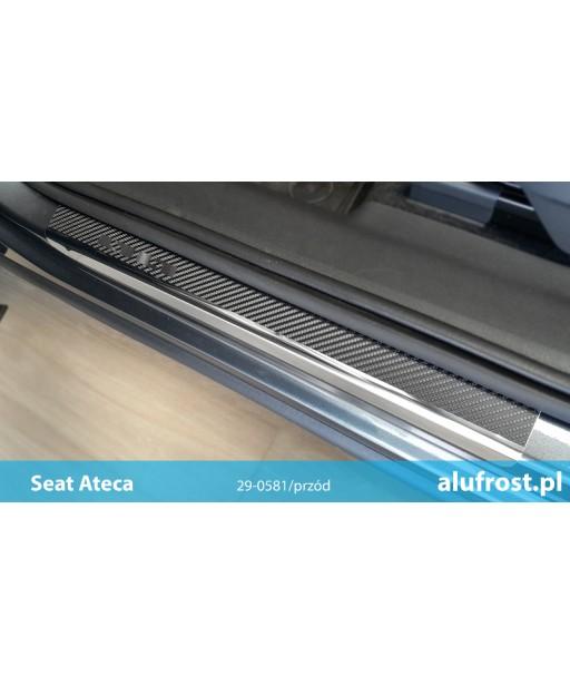 Door sills + carbon foil SEAT ATECA