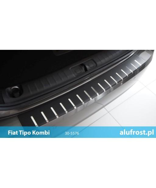 Rear bumper protector + carbon foil FIAT TIPO KOMBI
