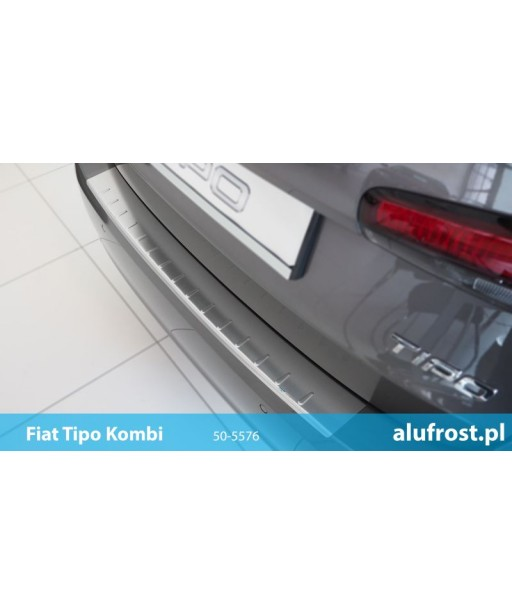 Rear bumper protector (inox) FIAT TIPO KOMBI