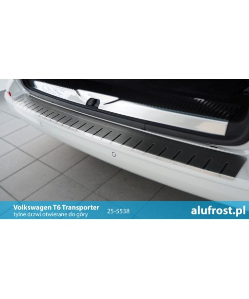 Rear bumper protector VOLKSWAGEN T6 TRANSPORTER / T6 MULTIVAN (hatch)