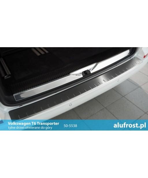 Rear bumper protector (inox) VOLKSWAGEN T6 TRANSPORTER / T6 MULTIVAN (hatch)