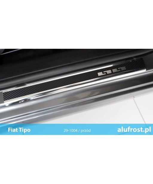 Door sills + carbon foil FIAT TIPO