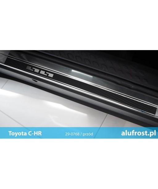 Door sills + carbon foil TOYOTA C-HR