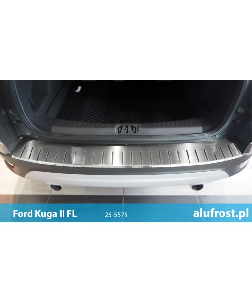 Rear bumper protector FORD KUGA II FL