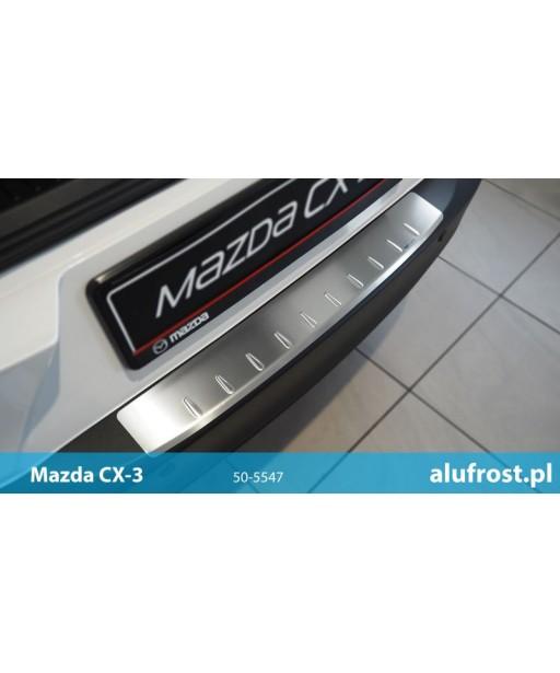 Rear bumper protector (inox) MAZDA CX-3