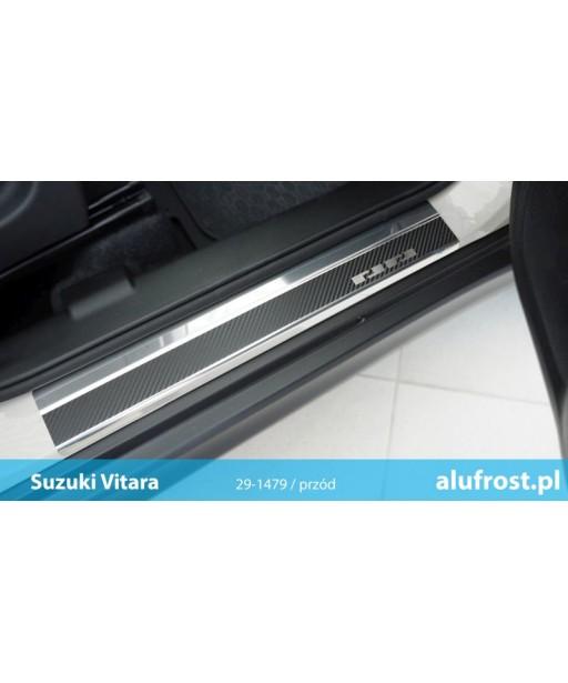 Door sills + carbon foil SUZUKI VITARA