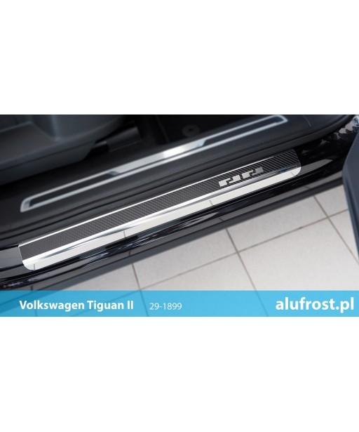 Door sills + carbon foil VOLKSWAGEN TIGUAN II