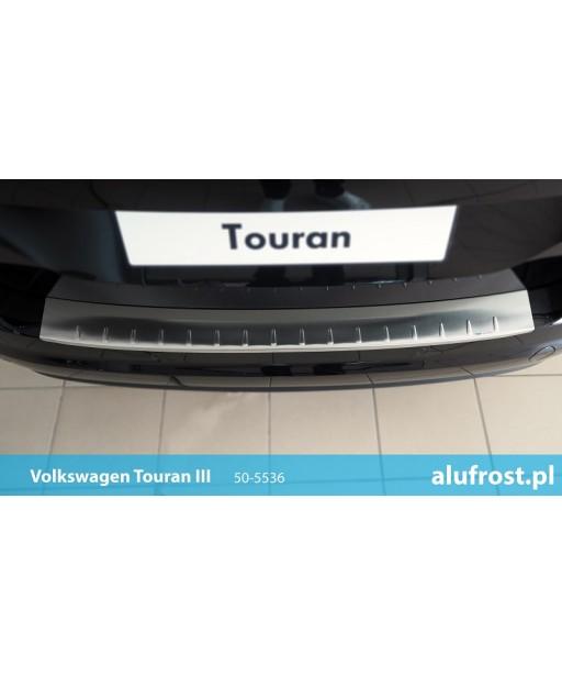 Rear bumper protector (inox) VOLKSWAGEN TOURAN III