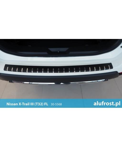 Ladenkantenschutz + carbon folie NISSAN X-TRAIL III (T32) FL
