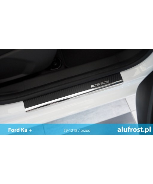 Door sills + carbon foil FORD KA III