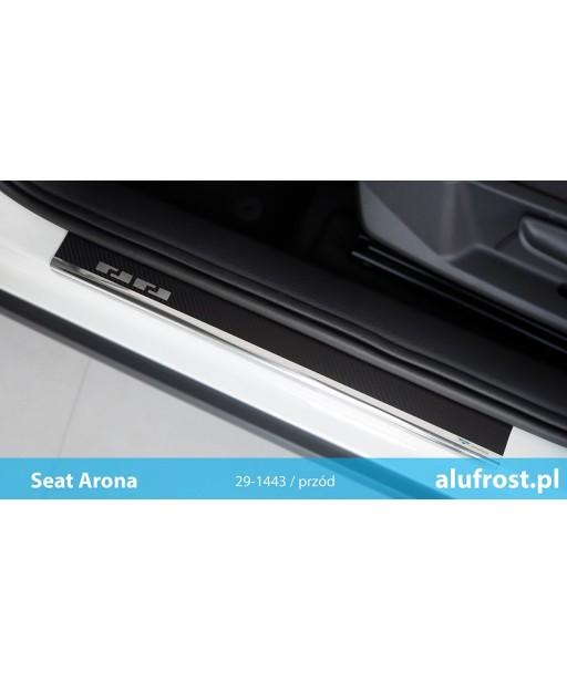 Door sills + carbon foil SEAT ARONA