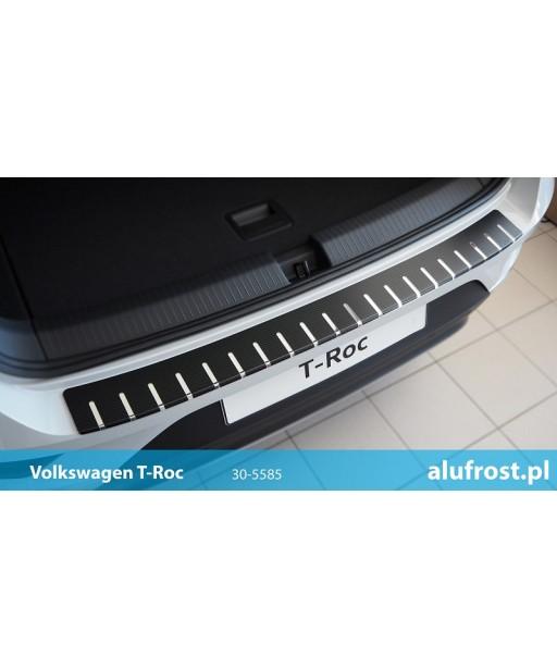 Rear bumper protector + carbon foil VOLKSWAGEN T-ROC