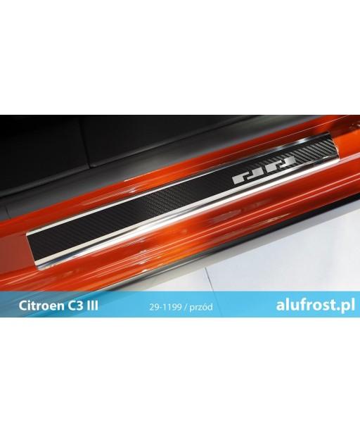Door sills + carbon foil CITROEN C3 III