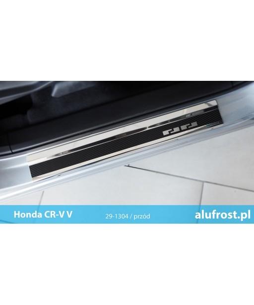 Door sills + carbon foil HONDA CR-V V