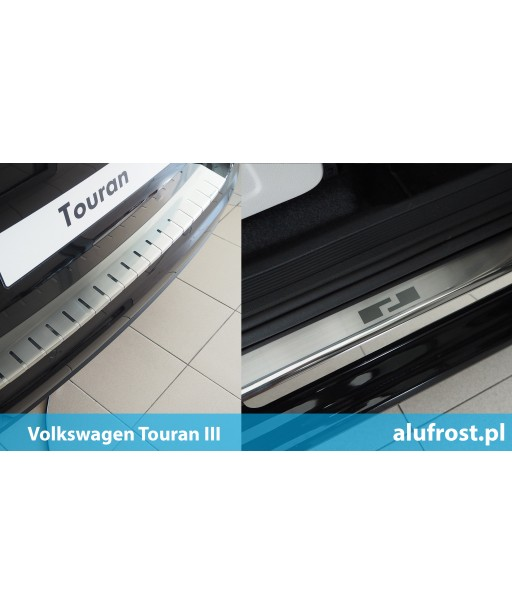 SET of door sills and rear bumper protector Volkswagen Touran III