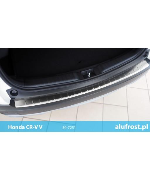 Rear bumper protector (inox) HONDA CR-V V