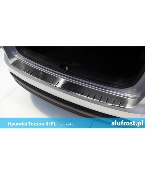 Rear bumper protector HYUNDAI TUCSON III FL